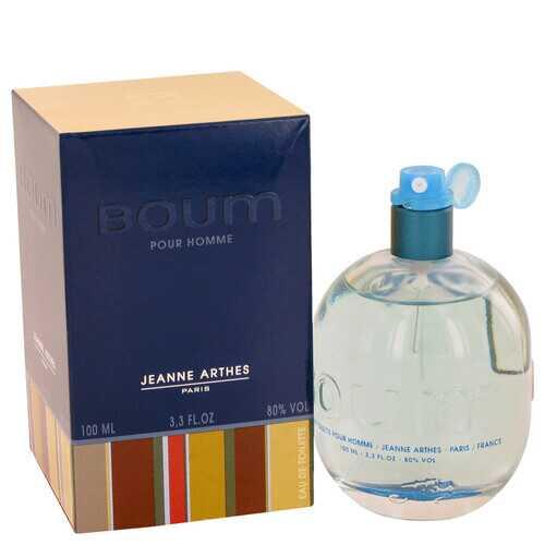 Boum by Jeanne Arthes Eau De Toilette Spray 3.3 oz (Men)
