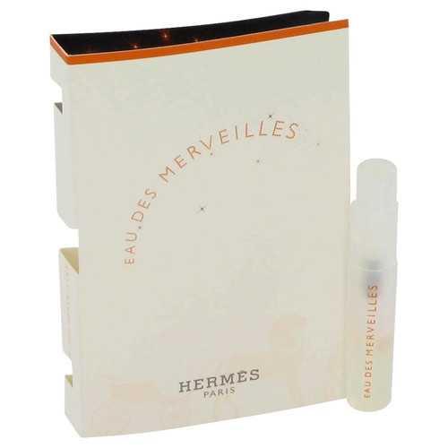 Eau Des Merveilles by Hermes Vial (sample) .05 oz (Women)