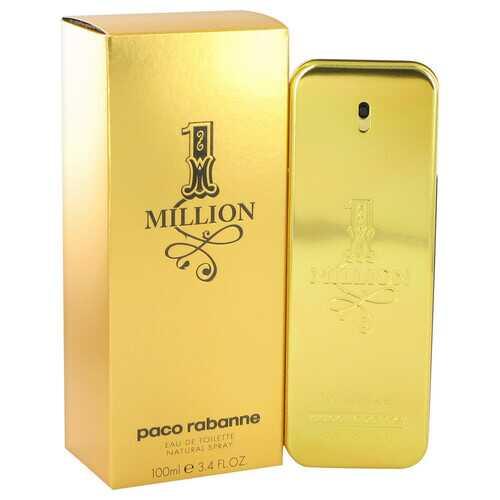 1 Million by Paco Rabanne Eau De Toilette Spray 3.4 oz (Men)