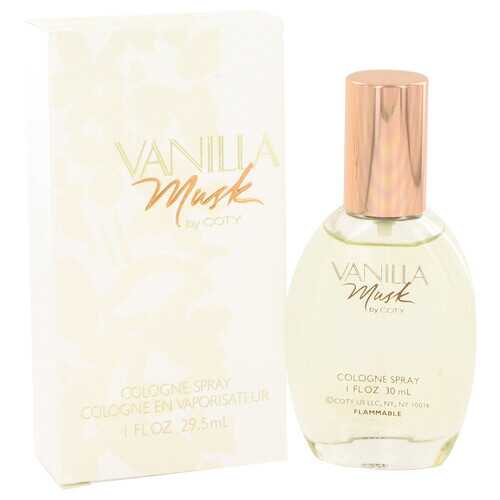 Vanilla Musk by Coty Cologne Spray 1 oz (Women)