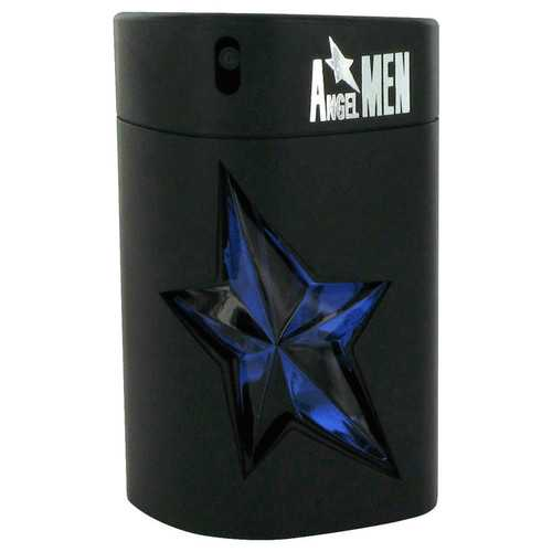 ANGEL by Thierry Mugler Eau De Toilette Spray Refillable (Rubber Tester) 3.4 oz (Men)