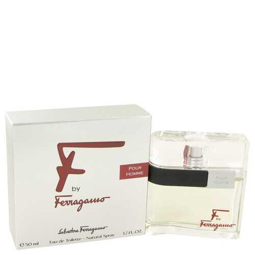 F by Salvatore Ferragamo Eau De Toilette Spray 1.7 oz (Men)