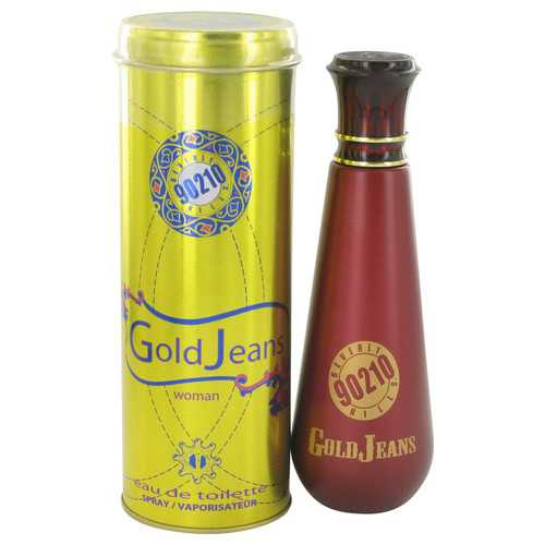 90210 Gold Jeans by Torand Eau De Toilette Spray 3.4 oz (Women)