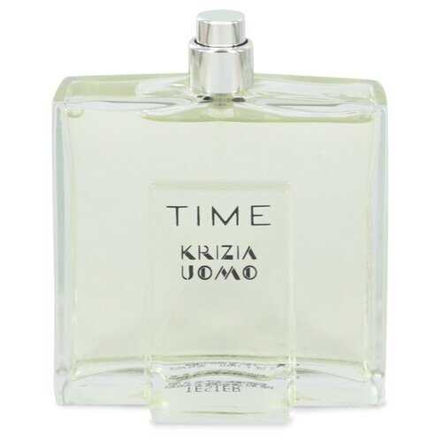 Krizia Time by Krizia Eau De Toilette Spray (Tester) 3.4 oz (Men)