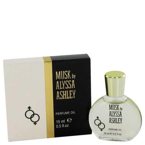 Alyssa Ashley Musk by Houbigant Perfumed Oil .5 oz (Women)