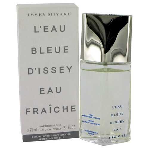 L'EAU BLEUE D'ISSEY POUR HOMME by Issey Miyake Eau De Fraiche Toilette Spray (Tester) 2.5 oz (Men)