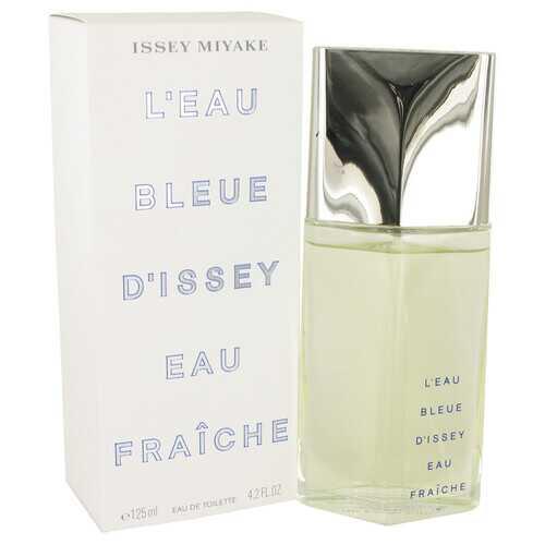 L'EAU BLEUE D'ISSEY POUR HOMME by Issey Miyake Eau De Fraiche Toilette Spray 4 oz (Men)