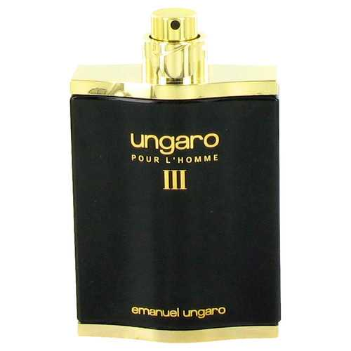 UNGARO III by Ungaro Eau De Toilette Spray (Tester) 3.4 oz (Men)