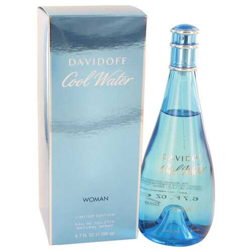 COOL WATER by Davidoff Eau De Toilette Spray 6.7 oz (Women)