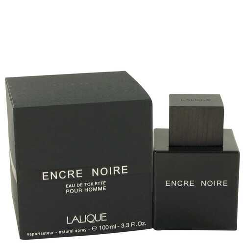 Encre Noire by Lalique Eau De Toilette Spray 3.4 oz (Men)