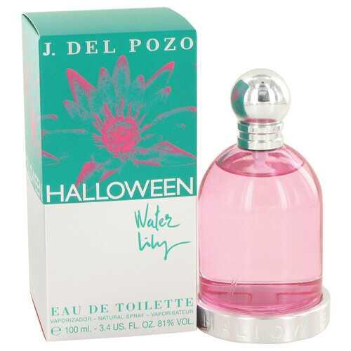 Halloween Water Lilly by Jesus Del Pozo Eau De Toilette Spray 3.4 oz (Women)