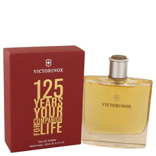 Victorinox 125 Years by Victorinox Eau De Toilette Spray (Limited Edition) 3.4 oz (Men)