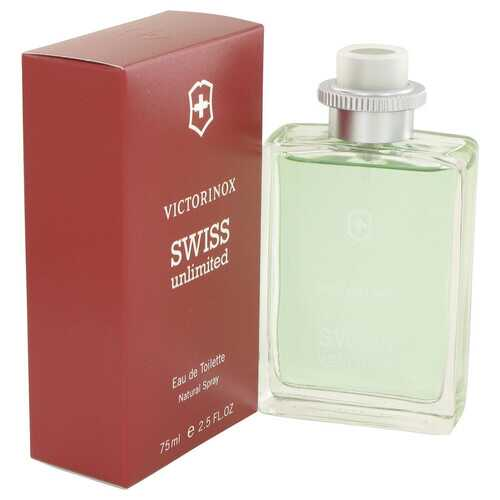 Swiss Unlimited by Victorinox Eau De Toilette Spray 2.5 oz (Men)