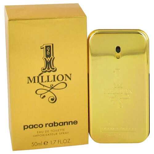 1 Million by Paco Rabanne Eau De Toilette Spray 1.7 oz (Men)