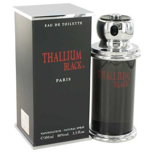 Thallium Black by Yves De Sistelle Eau DeToilette Spray 3.3 oz (Men)