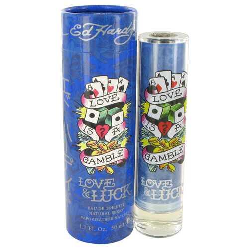 Love & Luck by Christian Audigier Eau De Toilette Spray 1.7 oz (Men)