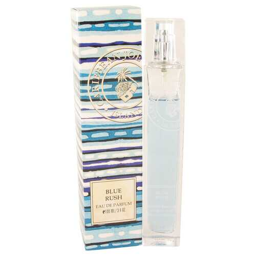 Blue Rush (Caribbean Joe) by Caribbean Joe Eau De Parfum Spray 3.4 oz (Women)