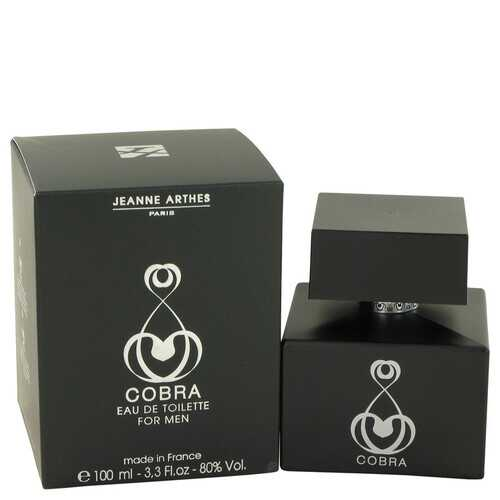Cobra by Jeanne Arthes Eau De Toilette Spray 3.3 oz (Men)