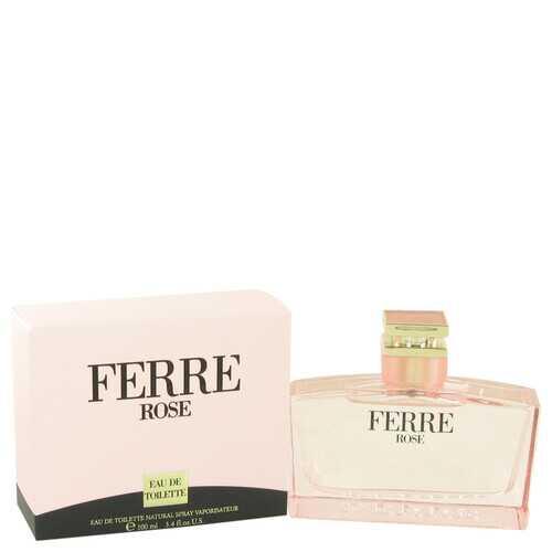 Ferre Rose by Gianfranco Ferre Eau De Toilette Spray 3.4 oz (Women)