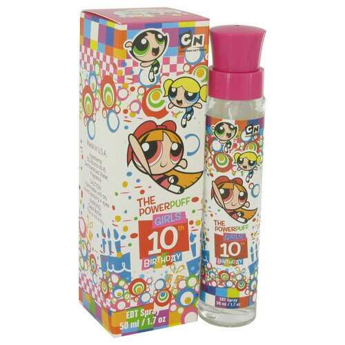 Powerpuff Girls 10th Birthday by Warner Bros Eau De Toilette Spray 1.7 oz (Women)
