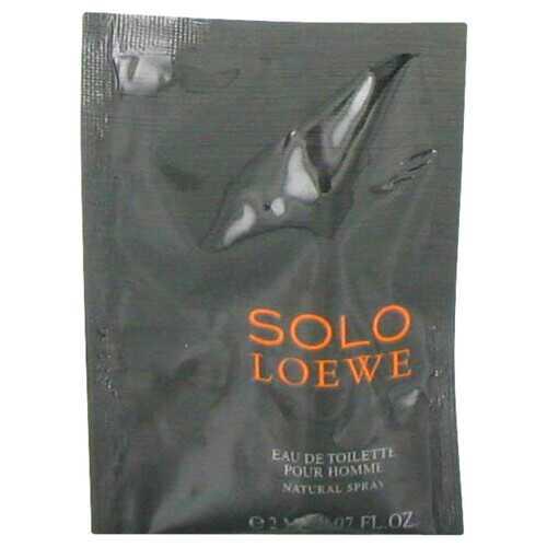 Solo Loewe by Loewe Vial (sample) .07 oz (Men)
