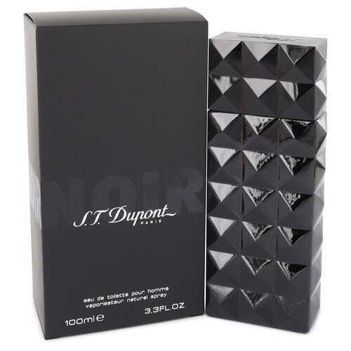 St Dupont Noir by St Dupont Eau De Toilette Spray 3.3 oz (Men)