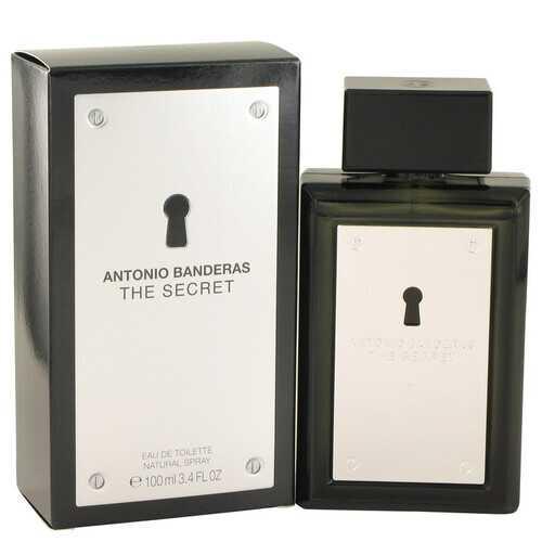 The Secret by Antonio Banderas Eau De Toilette Spray 3.4 oz (Men)