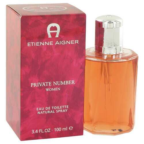 Private Number by Etienne Aigner Eau De Toilette Spray 3.4 oz (Women)