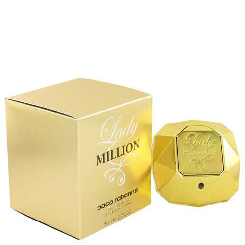 Lady Million by Paco Rabanne Eau De Parfum Spray 2.7 oz (Women)