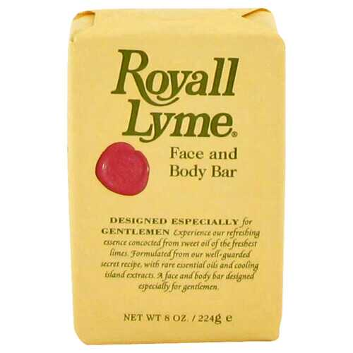 ROYALL LYME by Royall Fragrances Face and Body Bar Soap 8 oz (Men)