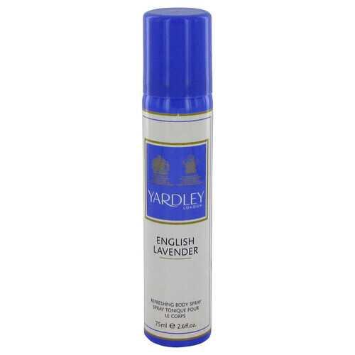 English Lavender by Yardley London Refreshing Body Spray (Unisex) 2.6 oz (Women)