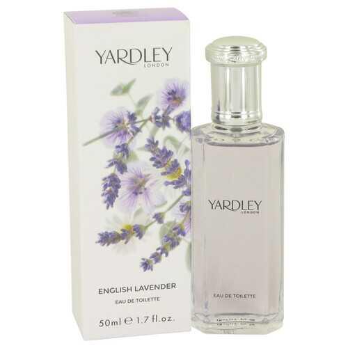 English Lavender by Yardley London Eau De Toilette Spray (Unisex) 1.7 oz (Women)