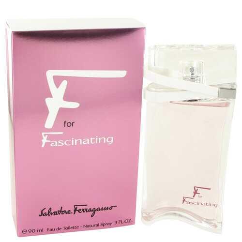 F for Fascinating by Salvatore Ferragamo Eau De Toilette Spray 3 oz (Women)