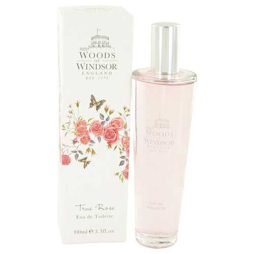 True Rose by Woods of Windsor Eau De Toilette Spray 3.3 oz (Women)