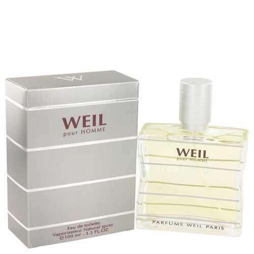 Weil Pour Homme by Weil Eau De Toilette Spray 3.4 oz (Men)