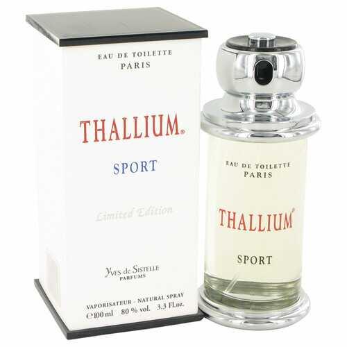 Thallium Sport by Parfums Jacques Evard Eau De Toilette Spray (Limited Edition) 3.4 oz (Men)