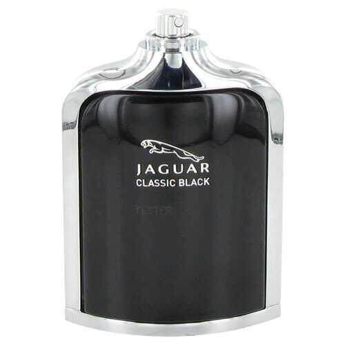 Jaguar Classic Black by Jaguar Eau De Toilette Spray (Tester) 3.4 oz (Men)