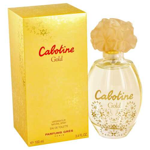 Cabotine Gold by Parfums Gres Eau De Toilette Spray 3.4 oz (Women)