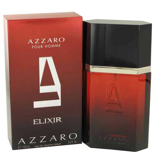 Azzaro Elixir by Azzaro Eau De Toilette Spray 3.4 oz (Men)