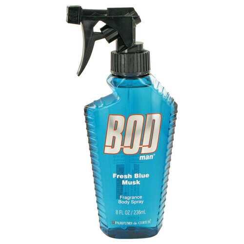 Bod Man Fresh Blue Musk by Parfums De Coeur Body Spray 8 oz (Men)