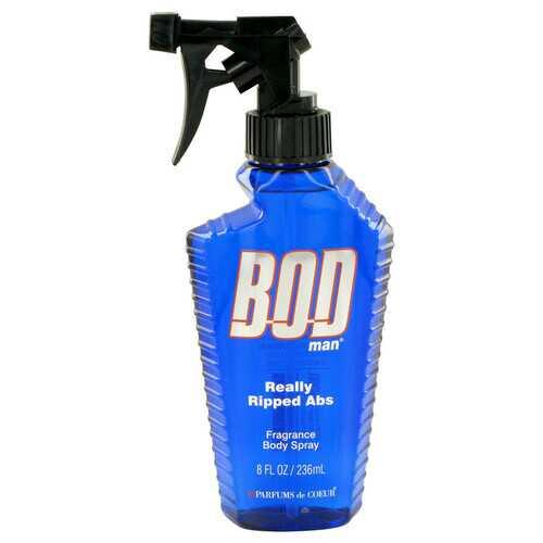 Bod Man Really Ripped Abs by Parfums De Coeur Fragrance Body Spray 8 oz (Men)