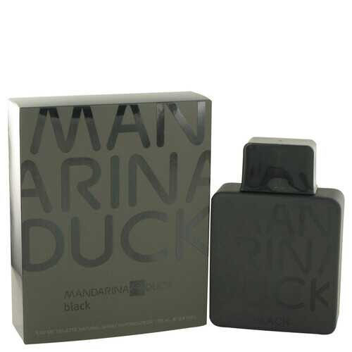 Mandarina Duck Black by Mandarina Duck Eau De Toilette Spray 3.4 oz (Men)