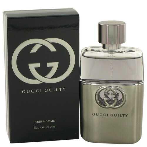 Gucci Guilty by Gucci Eau De Toilette Spray 1.7 oz (Men)