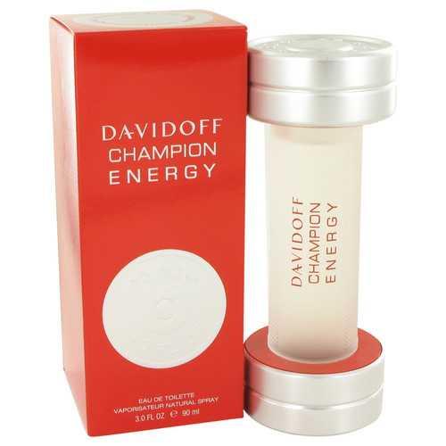Davidoff Champion Energy by Davidoff Eau De Toilette Spray 3 oz (Men)