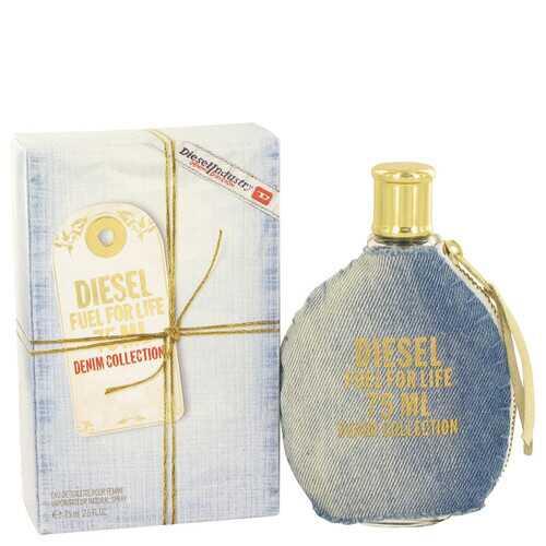 Fuel For Life Denim by Diesel Eau De Toilette Spray 2.5 oz (Women)