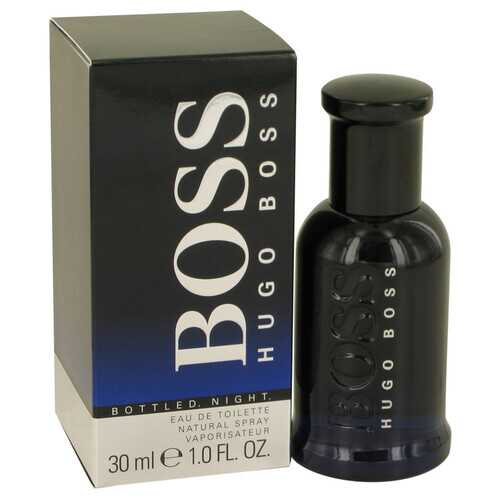 Boss Bottled Night by Hugo Boss Eau De Toilette Spray 1 oz (Men)