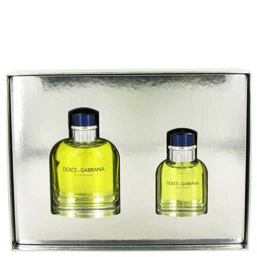DOLCE & GABBANA by Dolce & Gabbana Gift Set -- 4.2 oz Eau De Toilette Spray + 1.3 oz Eau De Toilette Spray (Men)