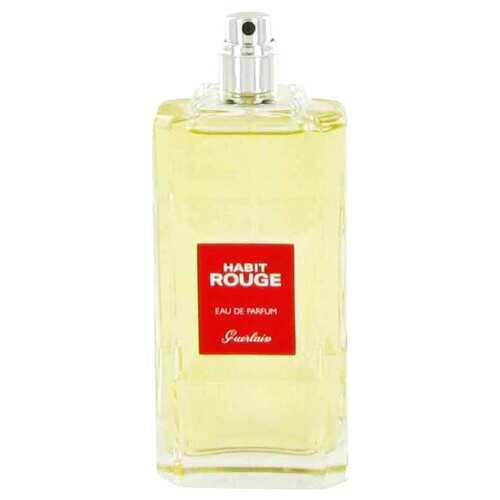 HABIT ROUGE by Guerlain Eau De Parfum Spray (Tester) 3.4 oz (Men)