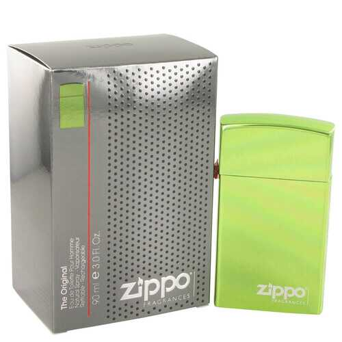 Zippo Green by Zippo Eau De Toilette Refillable Spray 3 oz (Men)