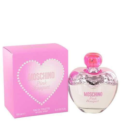Moschino Pink Bouquet by Moschino Eau De Toilette Spray 3.4 oz (Women)